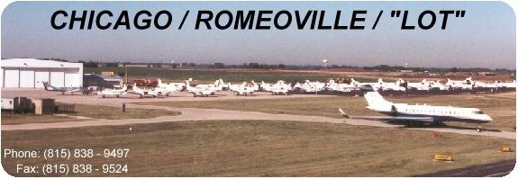 "CHICAGO / ROMEOVILLE / ""LOT"" ramp"